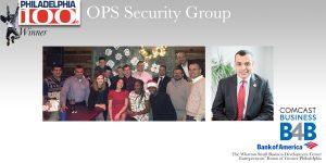 OPS Security Group Wins 2017 Philadelphia 100 Award
